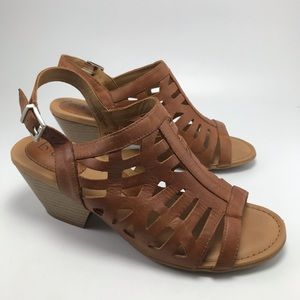 B.O.C Caged Wedge Heels